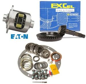 65 72 Gm 8 875 Chevy 12 Bolt Car 4 10 Ring And Pinion Eaton Posi Excel Gear Pkg