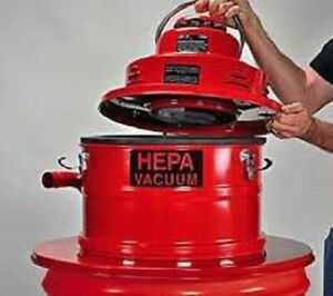 Pullman Holt Hepa Vacuum 55gal Drum Adapter W Tools B160446 drum Not In