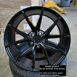 Staggered Rims 22 Inch Wheels For 2013 2014 2015 Camaro Ls Lt Rs Ss Only 5709