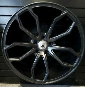 Staggered Rims 22 Inch Wheels For 2013 2014 2015 Ls Lt Rs Ss Zl1 Camaro 5683