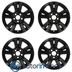 Honda Pilot Ridgeline 2016 2019 18 Oem Wheels Rims Full Set Black