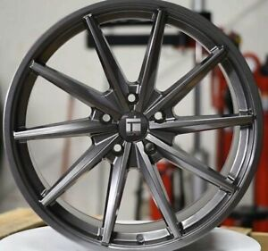 Staggered Rims 20 Inch Wheels For 2013 2014 2015 Camaro Ls Lt Rs Ss Only 5694