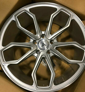 Staggered Rims 22 Inch Wheels For 2013 2014 2015 Ls Lt Rs Ss Zl1 Camaro 5682