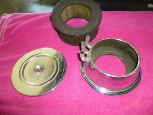 1957 1958 Corvette Fuel Injection Air Filter Original Gm Piece Very Nice