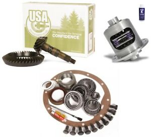 Jeep Wrangler Yj Tj Xj Dana 35 3 73 Ring And Pinion Duragrip Posi Usa Gear Pkg
