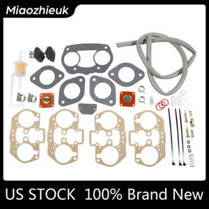 Rebuild Kit Gasket Repair Fit For Weber 40 44 48 Idf Carburetor Carb Empi Hpmx
