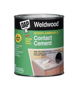 Dap Weldwood Nonflammable High Strength Synthetic Rubber Contact Cement
