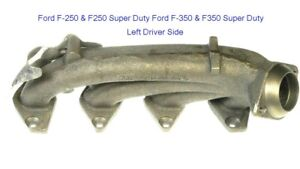 Exhaust Manifold Left Ford F 250 F250 Super Duty Ford F 350 F350 Super Duty