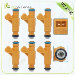 6 Fuel Injectors For Ford Explorer Mercury Mountaineer 4 0l 1999 2000 2001