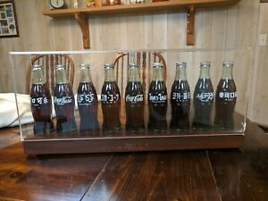 Coca-Cola Centennial Celebration International 9 Bottle Set~See Description~Rare