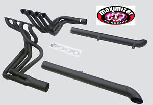 Maximizer Bbc Header W Resonated Side Pipe Fits 1965 1974 Chevy Corvette