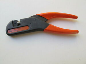 Microdot Thomas Betts T b Wt419 Hand Crimp Tool With Fixed Hex Die Gsc 101 Tin