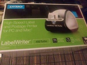 Dymo Labelwriter 450 Turbo Thermal Printer With 700 Label Included