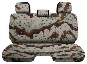 Designcovers Camo Desert Storm Fits 05 15toyota Tacoma Front Bench W 3headrests