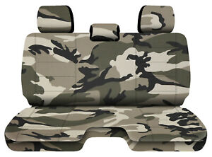 Designcovers Urban Camo 13 Fits 05 15toyota Tacoma Front Bench W 3headrests