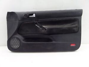 Vw Golf Gti 20ae Right Front Door Card Panel Mk4 Oem 20th Recaro Cloth