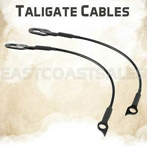 For 1998 1999 2000 2001 Dodge Ram 1500 2500 3500 Tailgate Liftgate Cable Set