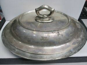 Tiffany Co Maker Sterling Makers Covered Vegetable Serving Dish