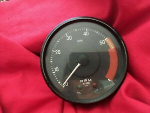 Vintage Smiths Tachometer Rn2413 00a To Fit Tr6 1969 71 Pre Owned