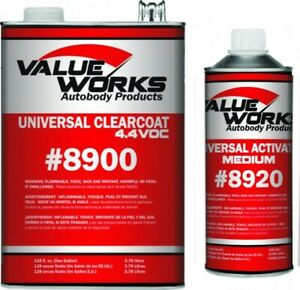 Value Works Universal Clear Value Urethane Medium Activator Val8901 4 1 Mix