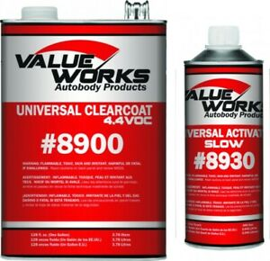 Value Works Universal Clear Value Urethane Slow Activator Val8901 4 1 Mix