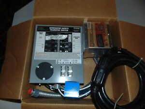 New Generac Transfer Switch Kit For Portable Generators 30 Amp 6 10 Circuits
