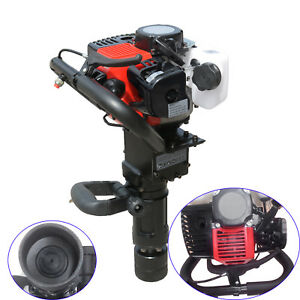 35cc Gas Power T post Driver Gasoline Engine 2stroke Fence Post Hammer Push Pile