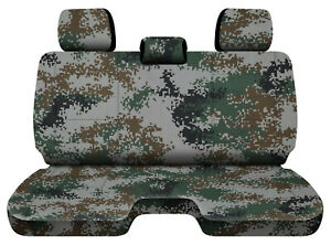 Designcovers Digital Camo Green Fits 05 15toyota Tacoma Front Bench W 3headrests