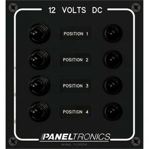 Paneltronics Dc 4 Position Toggle Switch With Circuit 9960017b