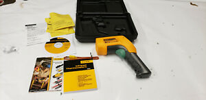 Fluke 566 Ir Thermometer In Case Used