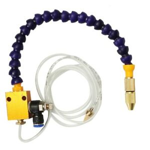 8mm Air Pipe Mist Coolant Lubrication Spray System For Cnc Lathe Milling Drill