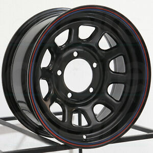 16x8 American Racing Ar767 5x5 5 5x139 7 12 Black Red Blue Wheels Rims Set 4