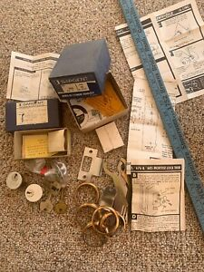 Vintage Sargent Co Deadbolt Bored In Cylinder Lock Set Lot