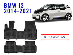 All Weather Rubber Floor Mats Set For Bmw I3 2014 2021