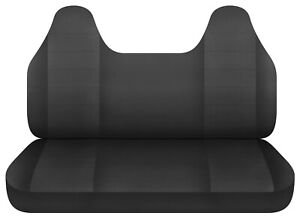Charcoal Bench Seat Cover W Molded Hr Fits Toyota Tacoma Chevy S10 Ford Ranger