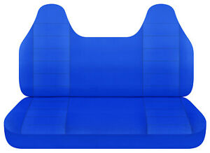 Blue Bench Seat Cover W Molded Hr Fits Toyota Tacoma Chevy S10 Ford Ranger