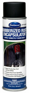 Eastwood Black Rubberized Rust Encapsulator Aerosol 15 Oz Low Voc Formula