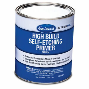 Eastwood High Build Self Etching Gray Primer 1gallon For Bare Metal And Fills In