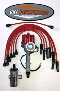 Pontiac 350 389 400 455 Small Red Female Hei Distributor 45k Can Coil Wires
