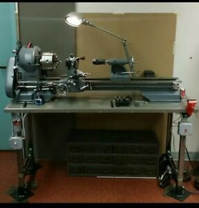 Atlas Craftsman Lathe 12 Inch Custom Work Restored