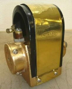 Wizard Model 2s Magneto Serial No 215756 Hit And Miss Gas Engine All Brass Body