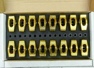 Comp Cams 19048 16 Ultra Gold 1 72 Aluminum Roller Rocker Arm Kit For Ford Sbf