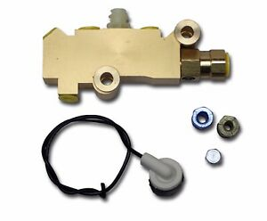 1974 1986 Jeep Cj5 Cj7 Cj8 Disc Drum Brake Brass Proportioning Valve