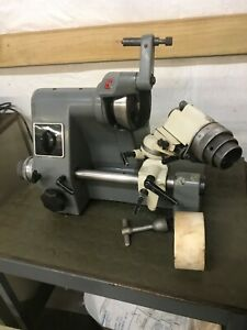 Kuhlmann Su2 Deckel Type Single Lip Cutter Grinder