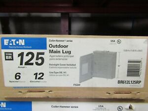Eaton Br612l125rp Load Center
