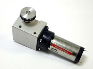 Maxon 242885 Motor 24vdc Max With Right Angle Gear Drive Tested Working