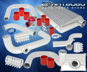 99 00 Civic 2 5 Light Weight Piping Kit 31 Bar Plate Intercooler Unit Bov