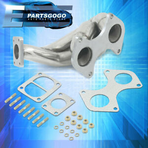 For 93 96 Mazda Rotary Rx7 Fd3s 13b Rew T04 Performance Exhaust Turbo Manifold