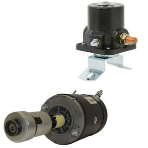 Replacement Starter 12 Volt Solenoid Fits Ford Tractors 9n 8n 2n