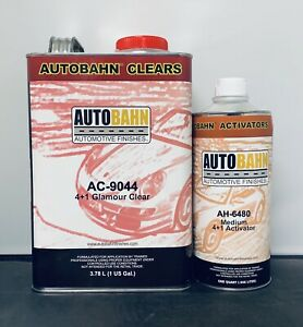 Auto Bahn Maker Of Wet Wet Ac 9044 High Solid Clearcoat Gallon Kit
